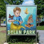 Dylan Park Mosaic Sign