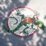 Lizard Mosaic at Buckboard Park