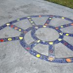 Shell Mosaic at Buckboard Park